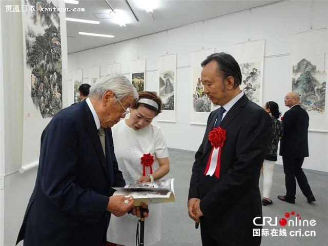 纪念邦交正常化45周年 中日名家书画展在日本和歌山开幕